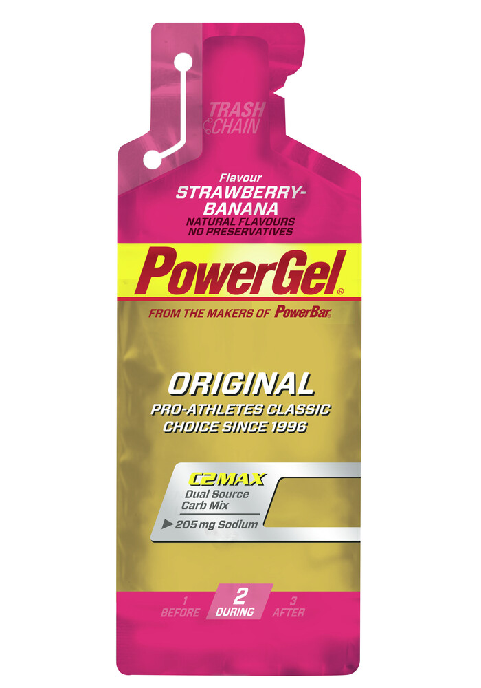 Power gel strawberry banana